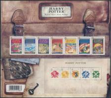 2007 Harry Potter hetescsík Mi 2535-2541 + blokk Mi 38 díszcsomagolásban