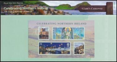 Észak Írország 2008 Nemzeti ünnep blokk Mi 1 díszcsomagolásban