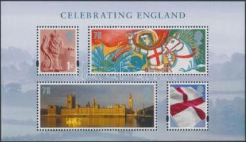 Anglia 2007 Nemzeti ünnep blokk Mi 1