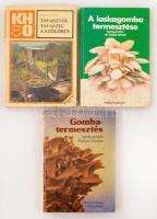 Vegyes kertészet-mezőgazdasági könyv tétel, összesen 3 kötet.