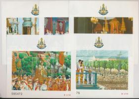 King Bhumibol Aduljadeh blockset, Bhumibol Aduljadeh király uralkodásának 50. évfordulója blokk sor