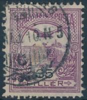 1900 Turul 35f alul érdekes fogazással