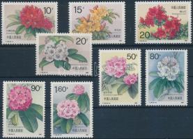Flowers set, Virágok sor