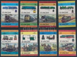 Mozdony (II) sor 8 párban, Locomotives (II) set 8 pairs