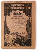 Nagy Gusztáv: Közútak kilométer mutatója és térképe. Székesfehérvár, 1927, szerzői kiadás. Kiadói illusztrált papírkötésben, a térképmelléklet nélkül.