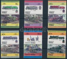 Locomotives (I) set 6 pairs, Mozdony (I) sor 6 párban