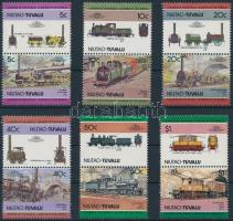Locomotives (I) set 6 pairs Mozdony (I) sor 6 párban