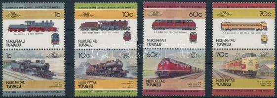 Mozdony (I) sor 4 párban Locomotives (I) set 4 pairs