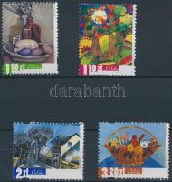 2002 Festmények sor Mi 3965-3968