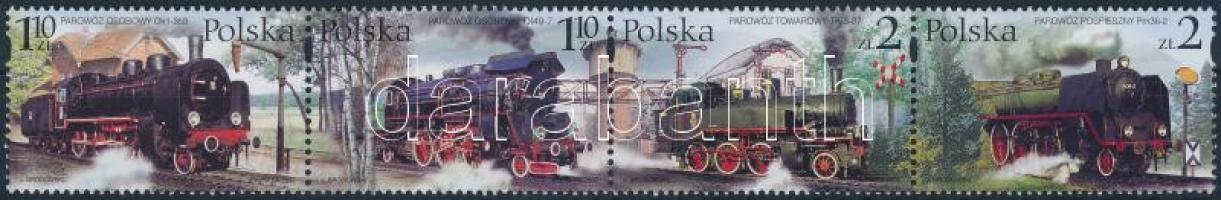 Railway stripe of 4, Vasút négyescsík