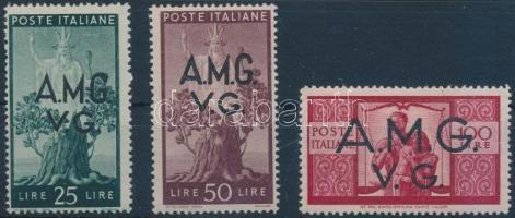 1945/1947 Forgalmi záróértékek 1945/1947 Definitive closing value