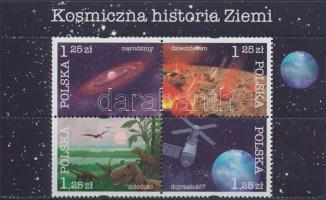 History of the Earth block of 4, A Föld története négyestömb