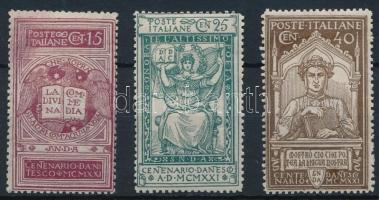 1921 Dante sor Mi 141-143