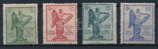 1921 Veneto tartomány sor Mi 144-147 A