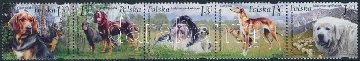 2006 Nemzetközi kutyakiállítás sor ötöscsík Mi 4289-4293