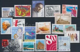 19 stamps, 19 db bélyeg