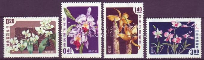 Taiwan, Orchids set Taiwan; Orchideák sor