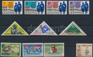 1967-1970 30 stamps, 1967-1970 30 bélyeg közte sorokkal