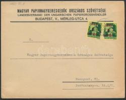 1945 (2. díjszabás) Helyi céges levél Kisegítő 2x1P/1P bérmentesítéssel