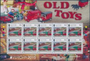 2015 Europa CEPT, régi játékok kisív Mi 2026