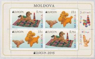 2015 Europa CEPT, régi játékok bélyegfüzet MH 20 (Mi 904-905)