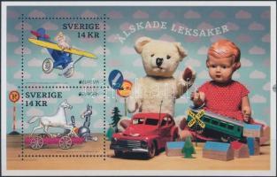 Europa CEPT, old toys block, Europa CEPT, régi játékok blokk
