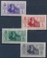 1932 Da Vinci 4 érték Mi 386-388, 390
