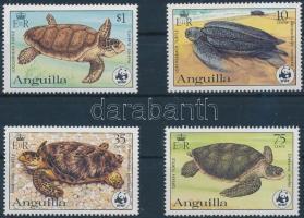 1983 WWF: Teknősök sor Mi 541 A-544 A + 4 db FDC