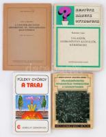 Vegyes kertészet-mezőgazdasági könyv tétel, összesen 4 kötet.