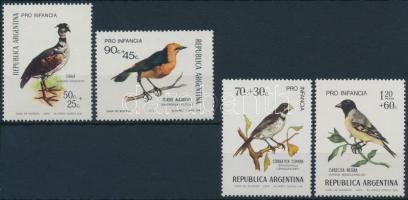 1973-1974 Children's Aid (XII-XIII): Bird 2 sets, 1973-1974 Gyermeksegély (XII-XIII): Madár 2 klf sor