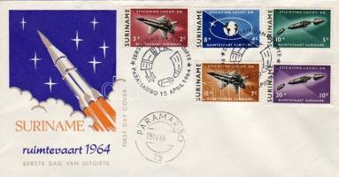 1964 Űrkutatás Mi 441-445 FDC
