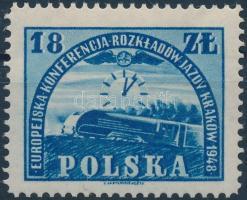 1948 Európai Vasúti Menetrend konferencia Mi 504