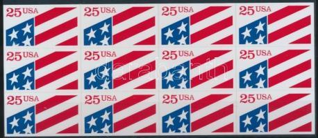 Flags self-adhesive foilsheet, Zászló öntapadós fólialap