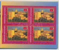 UNESCO World Heritage, Spain stamp-booklet, UNESCO Világörökség, Spanyolország bélyegfüzet