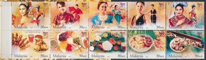 2007 Turizmus bélyegfüzet Mi 1441-1450