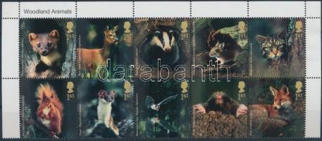 2004 Vadonélő állatok ívsarki 10-es tömb Mi 2236-2245