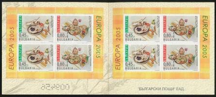 Europa CEPT, Gastronomy stamp-booklet, Europa CEPT, Gasztronómia bélyegfüzet