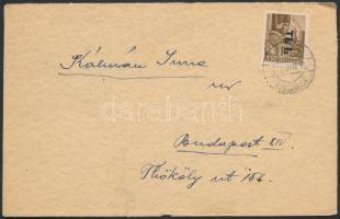 1946 (6. díjszabás) Betűs Tl.I. egyes bérmentesítés távolsági levélen