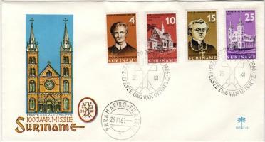 100 éves missziók sor FDC, 100-year missions set FDC