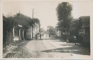 Mosóc, Mosovce; Ulica Jána Kollára / street (EK)