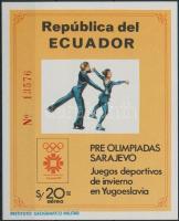1984 Téli Olimpia, Szarajevó blokk Mi 110