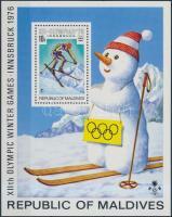 1976 Téli Olimpia, Innsbruck blokk Mi 36