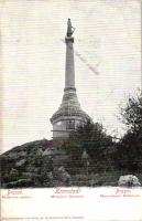 Brassó, Kronstadt, Brasov; Millenium szobor, Wilh. Hiemesch kiadása / statue (fl)