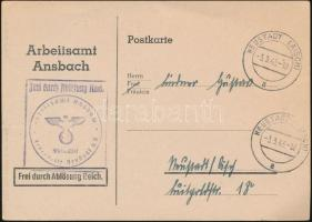 1943 Hivatalos levelezőlap