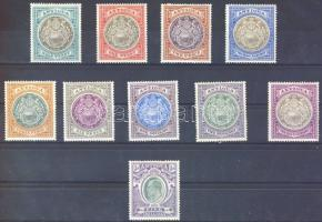 1903 Forgalmi / Definitives Mi 16-25