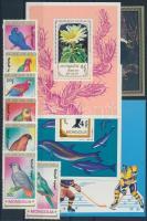 1981-1990 1 sor és 4 klf blokk