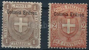 1897 Forgalmi értékek Mi 12-13