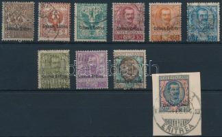 1903 Forgalmi Mi 19-24, 26-29