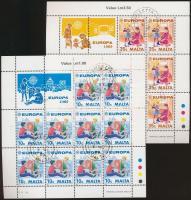 1989 Europa CEPT Gyermekjátékok kisívsor Mi 816-817