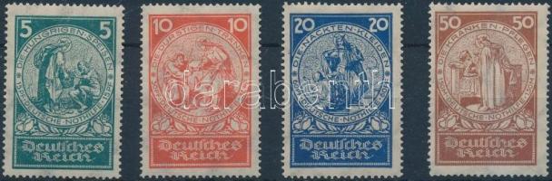 1924 Nothilfe Mi 351-354